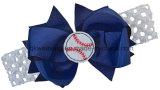 Headband elástico das curvas dos ventiladores de basebol com Hairband