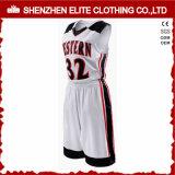 Uniformes de encargo China del baloncesto de la sublimación de los hombres