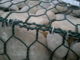 Alambre recubierto de PVC malla hexagonal Gabion / Gabion Box Gabion Bastket /
