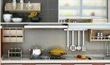 Мебель кухни поверхности меламина высокого качества самомоднейшая
