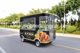 متحرّك كهربائيّة طعام شاحنة لأنّ عمليّة بيع مع [إيس] و [س]