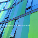 Fluorocarbono pintura UV de la junta de fibra de cemento de la pared de cortina