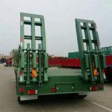 China-LKW-Schlussteil für Transport-niedrigen Bett-halb Schlussteil für Verkauf