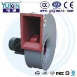Ventilador centrífugo de Yuton com arranjo da movimentação direta