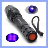 395nm 10W Super Power 4 LED Ultraviolet Lamp Black Light UVTorch Scorpions Hunting UVFlashlight