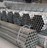 1pulgada-2pulgada de tubo de acero galvanizado Ronda/tubo de acero de construcción