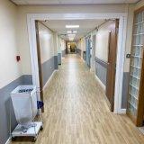 Un revêtement de sol en vinyle PVC pour le corridor