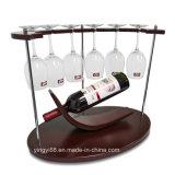 工場直接カスタムデスクトップの一義的な形のワインの陳列だな