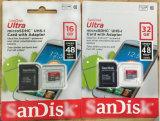매우 16GB 32GB 64GB 128GB 256GB Smartphones를 위한 마이크로 SD 카드 메모리 카드 CF 카드 TF 카드 U3 Evo 매우 SD 카드 플러스 실제적인 수용량 Evo