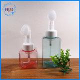 工場価格250mlの正方形の顔の泡の装飾的なプラスチックびん