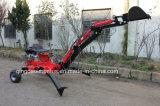 Escavatore a cucchiaia rovescia trainabile del rifornimento diretto della fabbrica approvato Ce della Cina piccolo