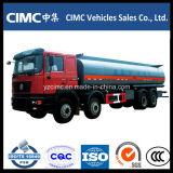 HOWO 8X4 기름 수송 유조 트럭 연료 탱크 트럭