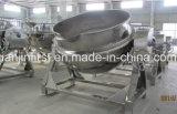 ステンレス鋼304の傾く混合の調理の鍋