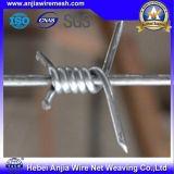 機密保護のための電流を通された有刺鉄線