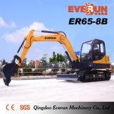 Marca di Everun escavatore Er60-8b del cingolo da 6 tonnellate
