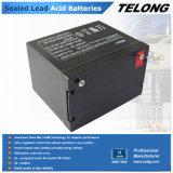 batería de plomo sellada 75ah de la batería de la energía solar 12V