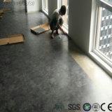 Étage sec de PVC de dos de sembler de marbre d'Anti-Bactéries