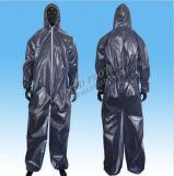 Устранимые Nonwoven костюмы Coverall костюма выдержки, работая защитные костюмы