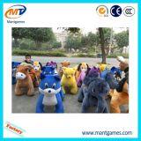 Saleのための中国Supplier Kids Ride Plush Walking Animal Rides