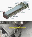 Máquina de lavagem da imprensa de filtro da correia do uso do sistema do tratamento da água de carvão