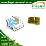 Pin a resina epossidica in lega di zinco personalizzato della bandierina per l'accumulazione