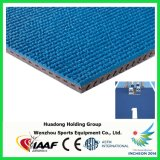 Profesional sintético de 13 mm de reproducción pista de caucho Fabricante