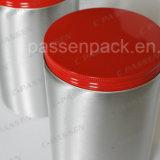 Caixote de açúcar de alumínio de 400 ml com tampa de parafuso (PPC-AC-009)