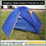 Tentes campantes extérieures de famille imperméable à l'eau bon marché de double porte