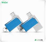 1 년 보장 (WY-pH06)를 가진 소형 회전대 OTG USB 플래시 디스크