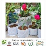O feltro da tela dos potenciômetros da planta do plantador do jardim cresce o potenciômetro do saco de ar dos potenciômetros