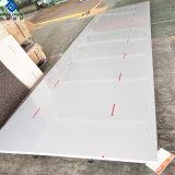 Peint en PE/PVDF revêtement de la plaque en aluminium à revêtement de couleur/feuilles pour les toitures