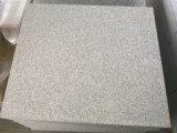 中国の低価格G603の薄い灰色の花こう岩の床タイル