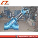 Y-Tipo di ceramica valvola di sigillamento di globo per industria dell'allumina