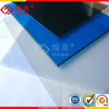 Panneau en plastique de toiture de feuille solide transparente de polycarbonate avec UV