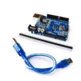 Version améliorée de la puce CH340g Uno R3 Carte de développement pour Arduino avec câble