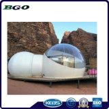 Châssis en acier du désert de luxe en plein air tente de bulle gonflable