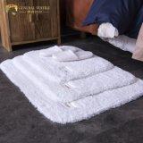 Jr053 Alimentation en usine Simple Style Plain White 100% coton Tapis de bain