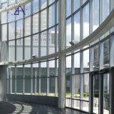 La Chine l'isolation thermique mur rideau en verre avec fenêtre Haut Hung