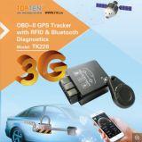 Inseguitore di GPS dell'automobile dell'inseguitore Tk228 del veicolo di GPS della scheda approvato RoHS del Ce SIM con la lettura di codice di dati e di errore di OBD (TK228-SU)