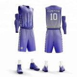 Maillots de basket-ball Hot Sale personnalisé de haute qualité pour l'équipe