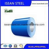 Revestimento de cor da bobina de aço PPGI com filme de PVC