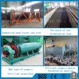 Remplir la ligne de production d'engrais organique de l'équipement