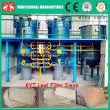 Grobe Speiseöl-Blatt-Filterpresse-Maschine der Berufsfertigung-2016