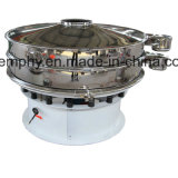 Écran de vibration rotatoire circulaire à haute précision pour le matériau d'enduit