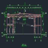 항공기 대피소를 위한 가벼운 조립식 강철 구조물 창고 건물