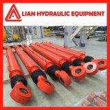 cylindre hydraulique pilotant de chaland de pile de pression d'utilisation de la rappe 20MPa de 8500mm