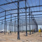 Structure métallique préfabriquée pour l'application industrielle