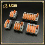 押ワイヤーコネクターのWago 222series 222-412/222-413/222-415の端子ブロック