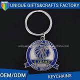 Metal agradable Keychain de Keychain de la tela para las ventas