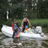 Liya 3.8mの膨脹可能なゴム製ボートの堅い外皮の肋骨のボート